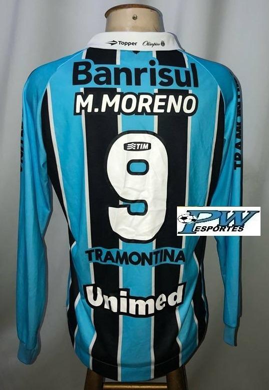 Camisa Grêmio 2012 Mangas Longas  9 Marcelo Moreno - R  299 c2ed74514717b