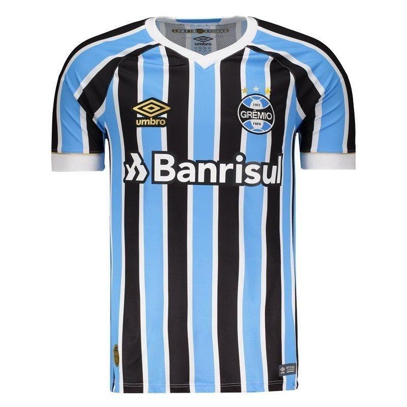 camisa grêmio 2018 - tricolor - oficial. Carregando zoom. 4d872a906b899