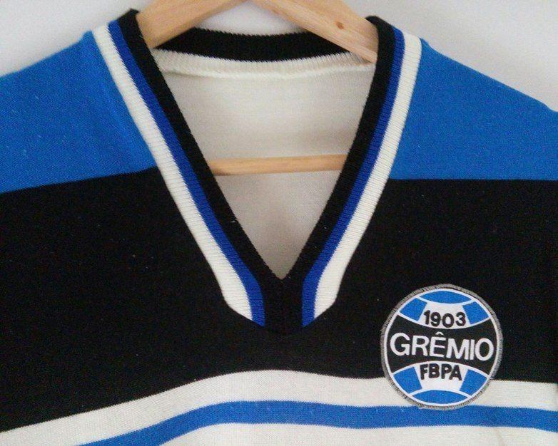 678e65f470fa3 Camisa Grêmio Antiga rara ano Desc-frete Grátis!-12x S juros - R ...