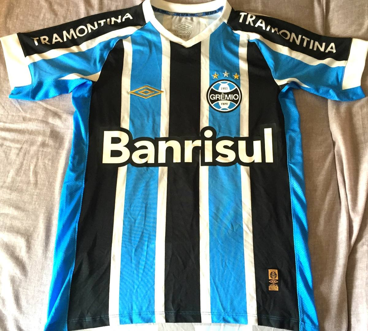 camisa grêmio brasileirão 2015 de jogo uniforme 1. Carregando zoom. 5146dcd616eff