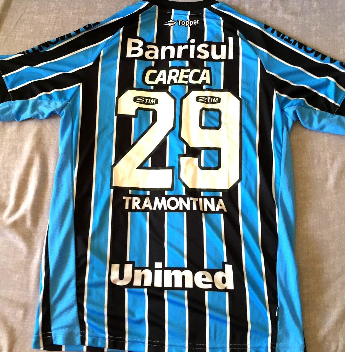 Camisa Grêmio Usada Em Jogo Brasileirão 2013 - R  379 c920f2aaea64a