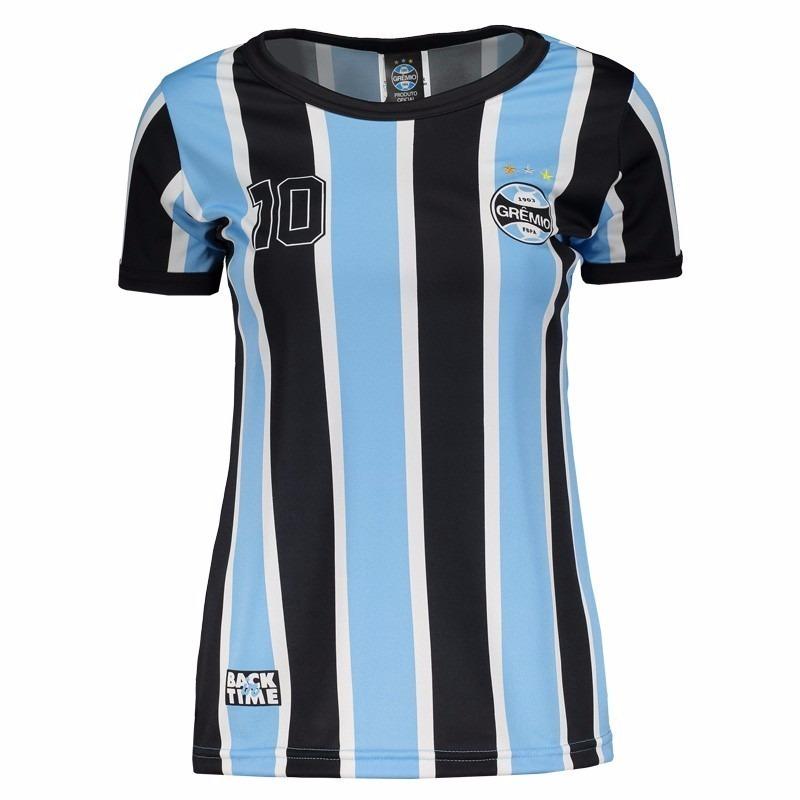 Camisa Grêmio Feminina Retro 95 - M - R  109 d14356badcf2b