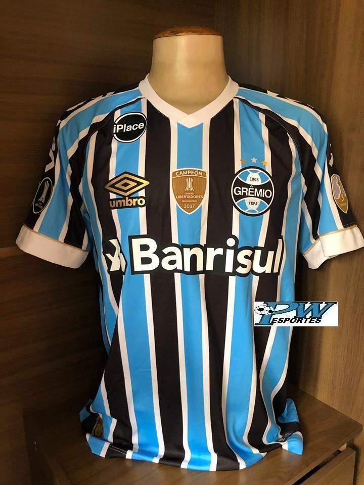 Camisa Grêmio Game Libertadores 2018 Vero  3 Geromel - R  379 12242f0f45737