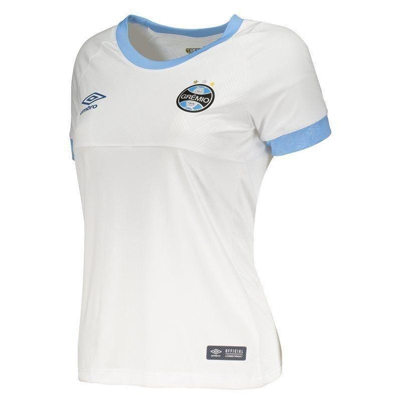 camisa grêmio ii 2015 feminina - branca. Carregando zoom. 261507b9bc35c