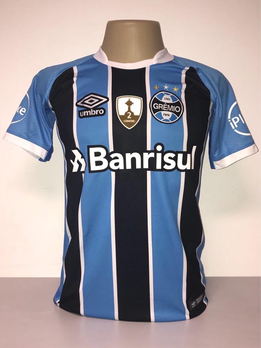 camisa grêmio libertadores 2017 tricolor game. Carregando zoom. 0bddbb398780b