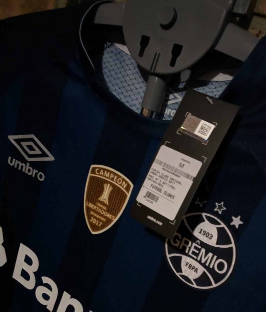 camisa grêmio marinho 2017  9 jael - personalizada - third. Carregando zoom. 1861074eb71fc