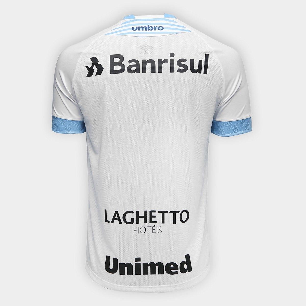 ff195a3ec Camisa Grêmio Ii 2018 S n° Torcedor Umbro Masculina - R  279