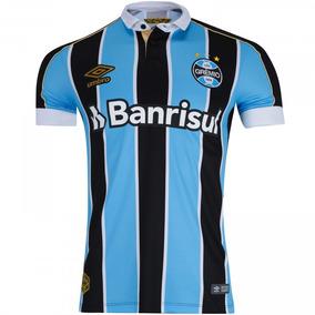 c00bf22ebcb4e Camisa Gremio Kannemann Times Brasileiros Masculina - Camisas de Futebol  com Ofertas Incríveis no Mercado Livre Brasil