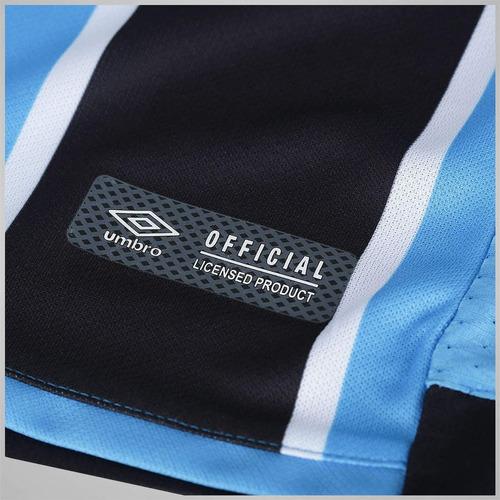 camisa grêmio oficial titular tricolor 2018 original - promo