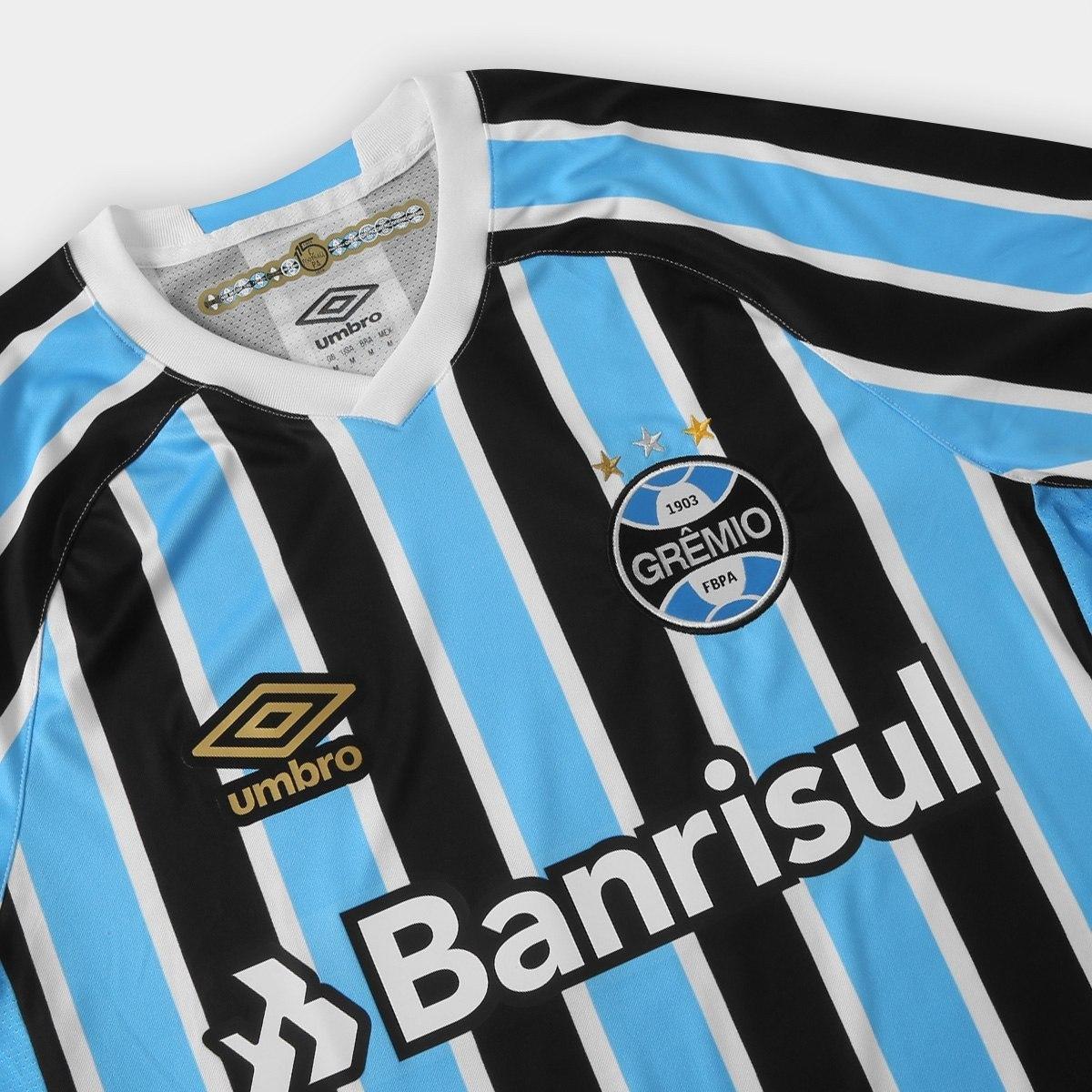 93d8e21981c40 Camisa Grêmio Original Umbro Pronta Entrega Oficial 2018 !! - R  120 ...