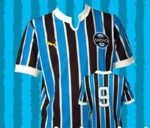 ac14774364 Camisa Grêmio Puma Oficial Retrô Pronta Entrega - R  149