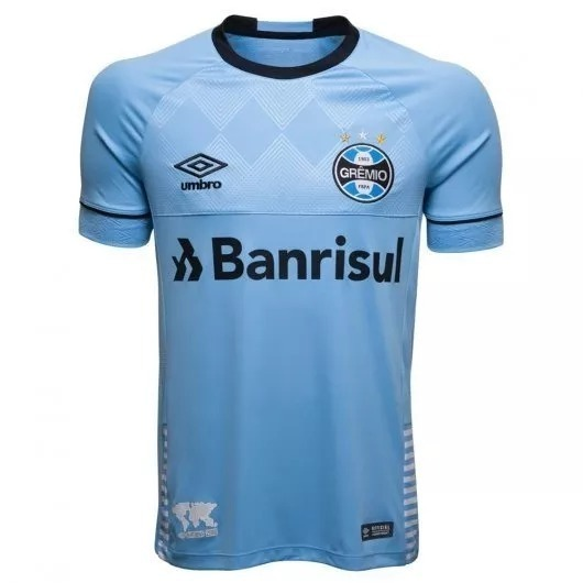 f5c554d154b53 Camisa Grêmio Tricolor Umbro Oficial 2018/2019 Nova Gremista - R ...