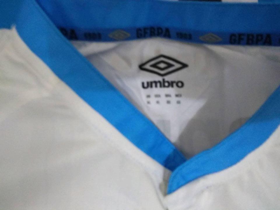 camisa grêmio umbro branca 2015   7 tamanho gg de jogo. Carregando zoom. bdbc84a82d286