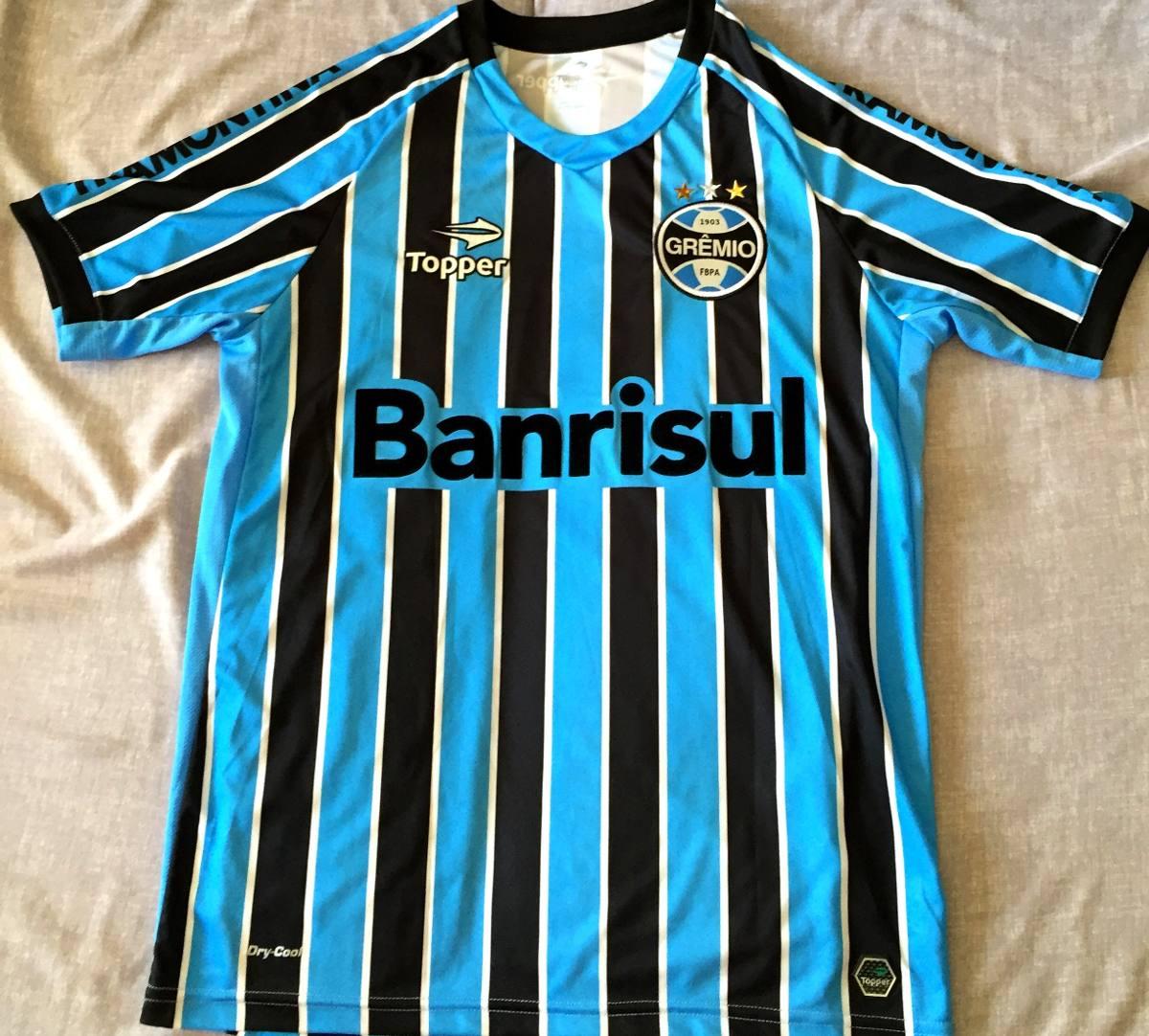 camisa grêmio usada em jogo brasileirão 2013. Carregando zoom. 61262d1074b0f