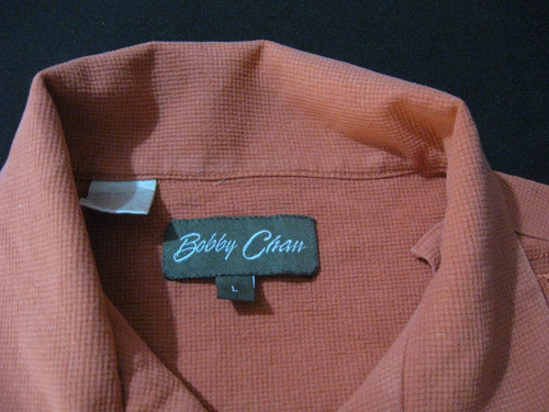 camisa guayabera cubavera exclusiva bobby chan talla l