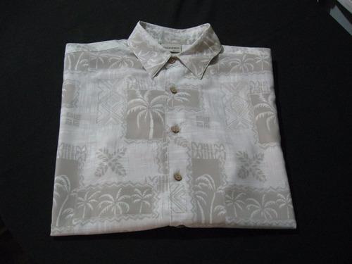 camisa guayabera hawaiana exclusiva extreme gear talla l