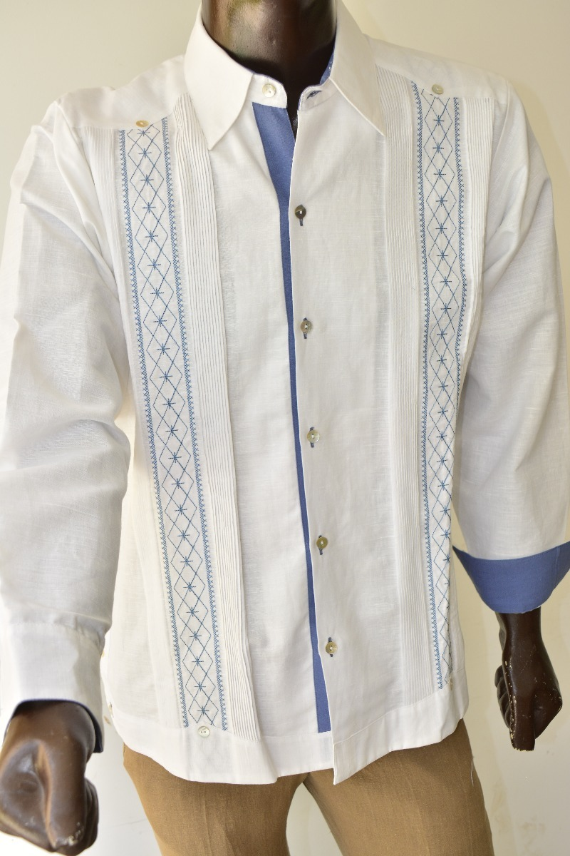 c1e9e54d13 Camisa Guayabera Yucateca Casual 100% Lino  cfkjor2133 -   1