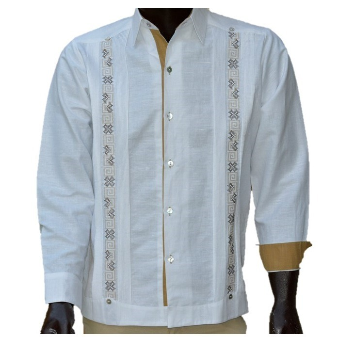 920d88cac7 Camisa Guayabera Yucateca Casual 100% Lino Greka M -   1