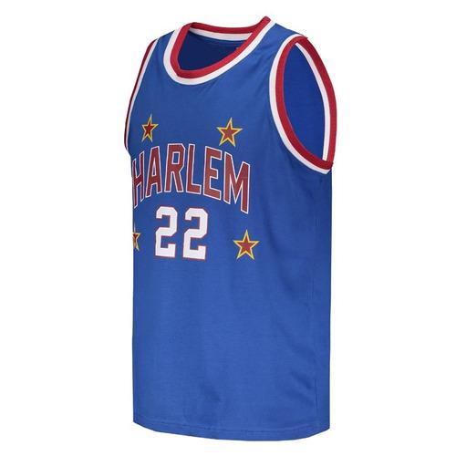 camisa harlem globetrotters basquete retrô