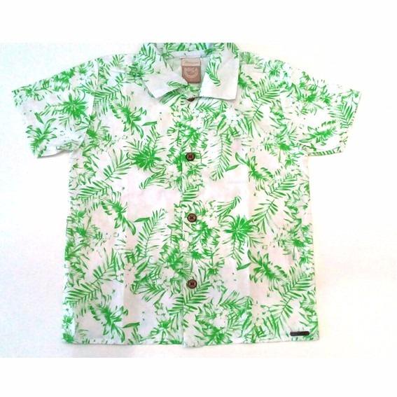 84f8a1f0bb Camisa Havaiana Infantil - R  32