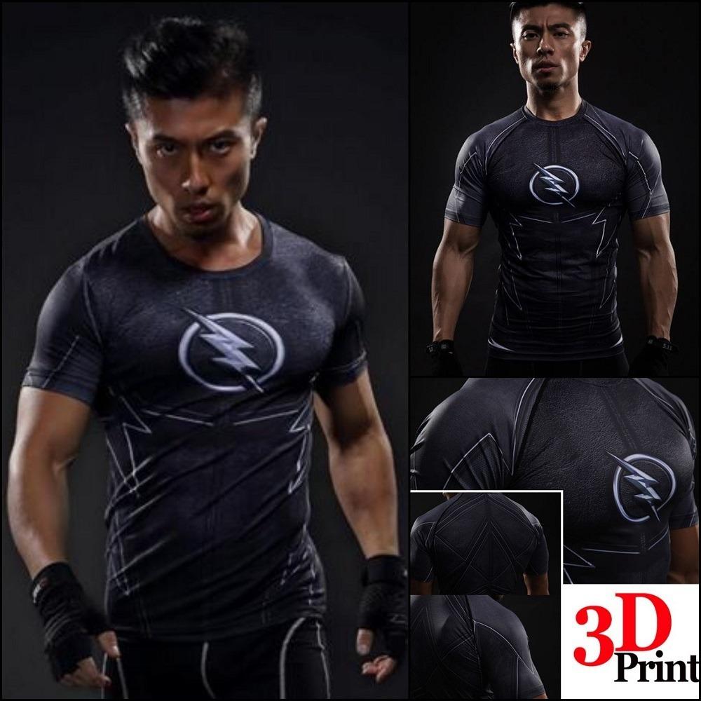 d676578eee87d Camisa Herois Flash Zoom Série Academia Mma jiujitsu Crosfit - R  69 ...