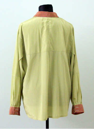 camisa hipster francesa retro vintage botones forrados