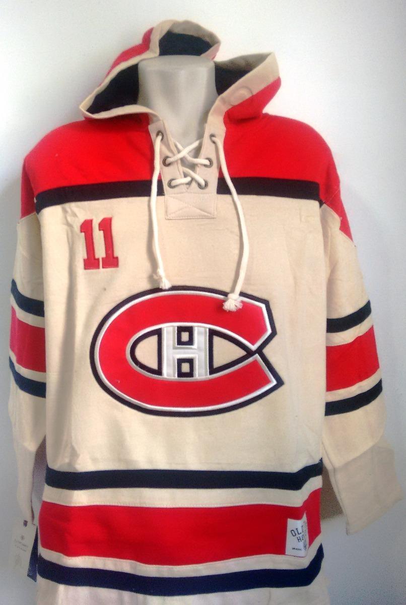 camisa hockey montreal canadiens bordada com capuz. Carregando zoom. 1342d11ecaf