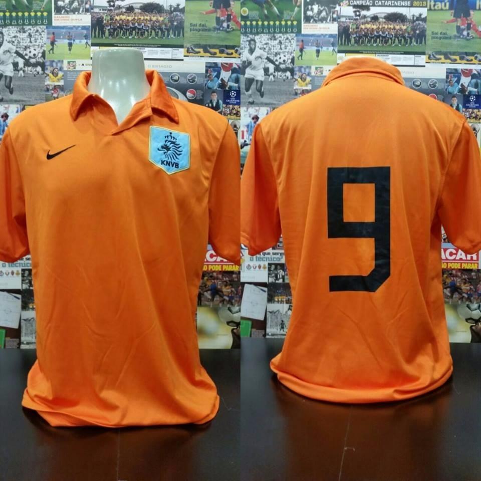 camisa holanda 2006 -2008 - nike - g. Carregando zoom. 7a30ced948fde