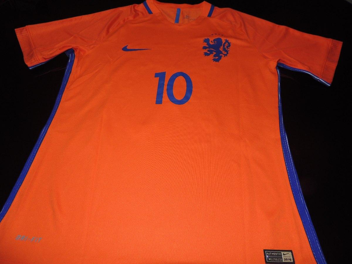 88920fecfed81 camisa holanda home 2016  10 sneijder. Carregando zoom.