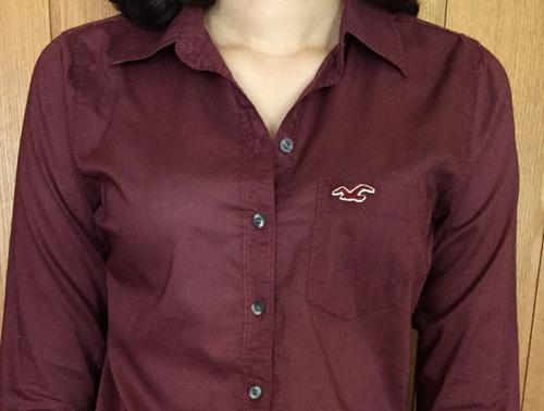 camisa hollister casual feminina casacos blusas abercrombie