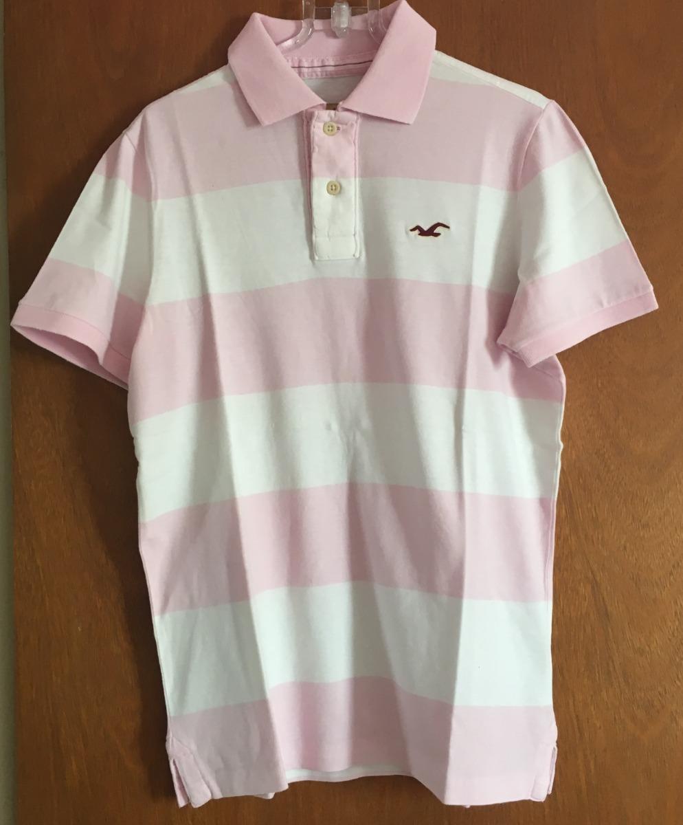 925bb3ee48 camisa hollister feminina branca e rosa usada. Carregando zoom.
