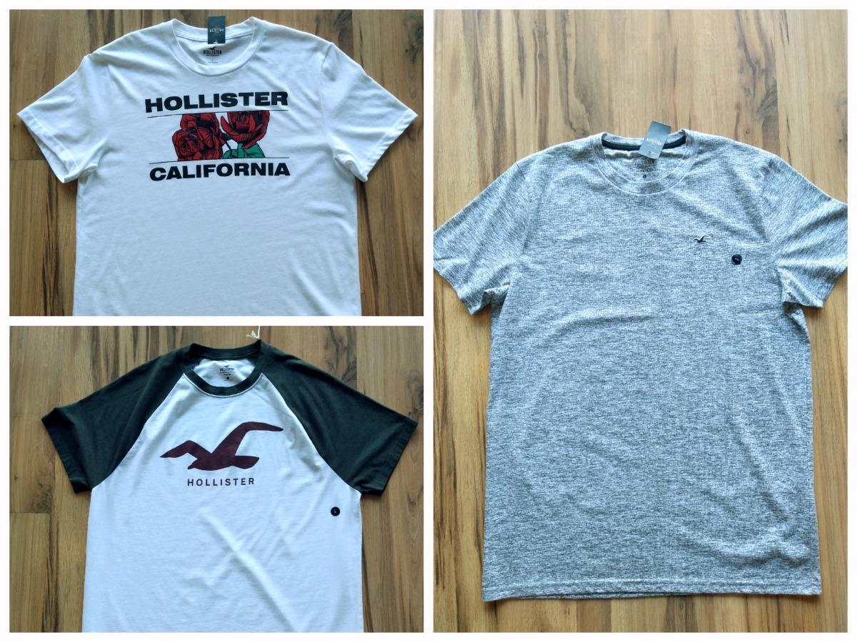 54c1361dda camisa hollister g kit 2 camisas original dos estados unidos. Carregando  zoom.