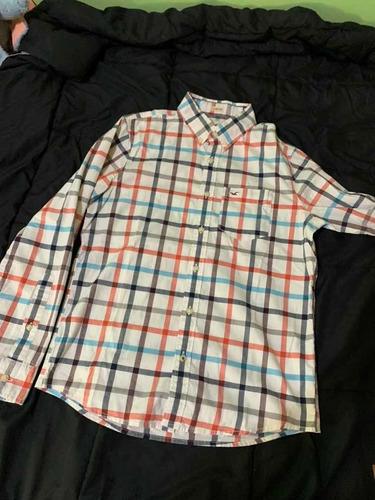 camisa hollister hombre original talle s proyecto donación!