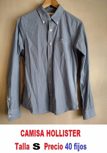camisa hollister talla small