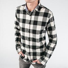 0a3d8b611f20 Camisa Hombre A Cuadros Franela Turk 804/01