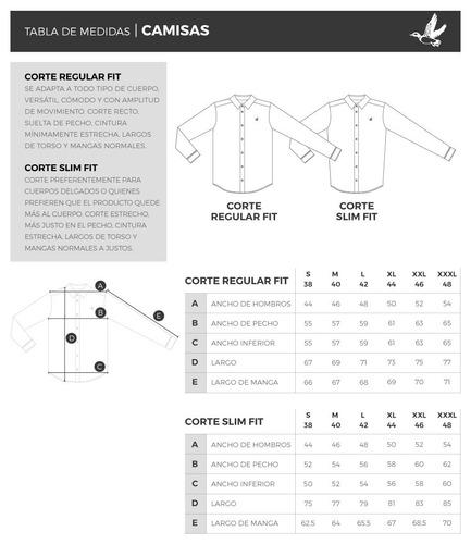 camisa hombre algodón brooksfield cuadros slim fit b03290z