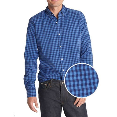 camisa hombre casual manga larga