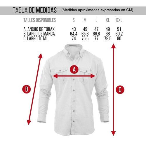 camisa hombre farenheite fill