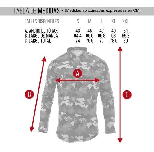 camisa hombre farenheite main