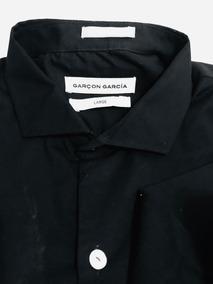 afc344b33 Camisa Hombre Garcon'garcia Negra Talle Large Sin Uso