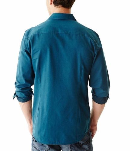 camisa hombre guess