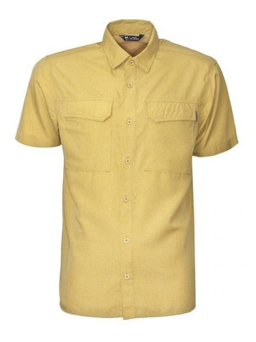 camisa hombre manga corta  outdoor talla s a 2xl  uv  50