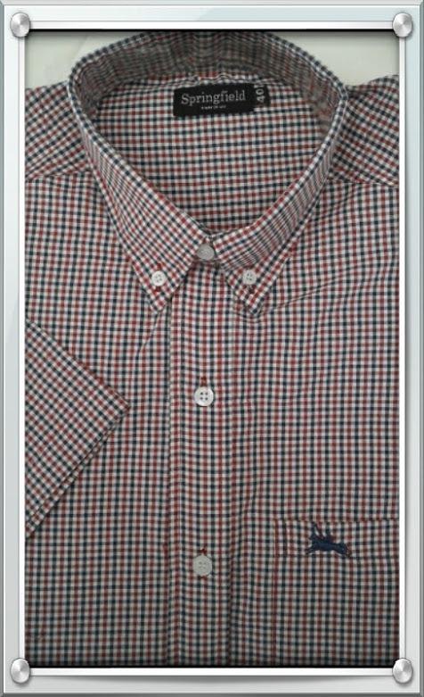 2574e79f17275 Camisa Hombre Manga Corta Polo Sur New Collection Autentica -   499 ...