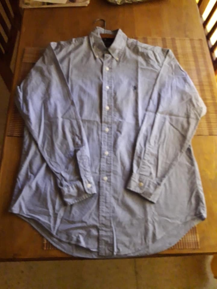 camisa hombre manga larga polo ralph lauren italia talle xl. Cargando zoom. 2d549865f49b6