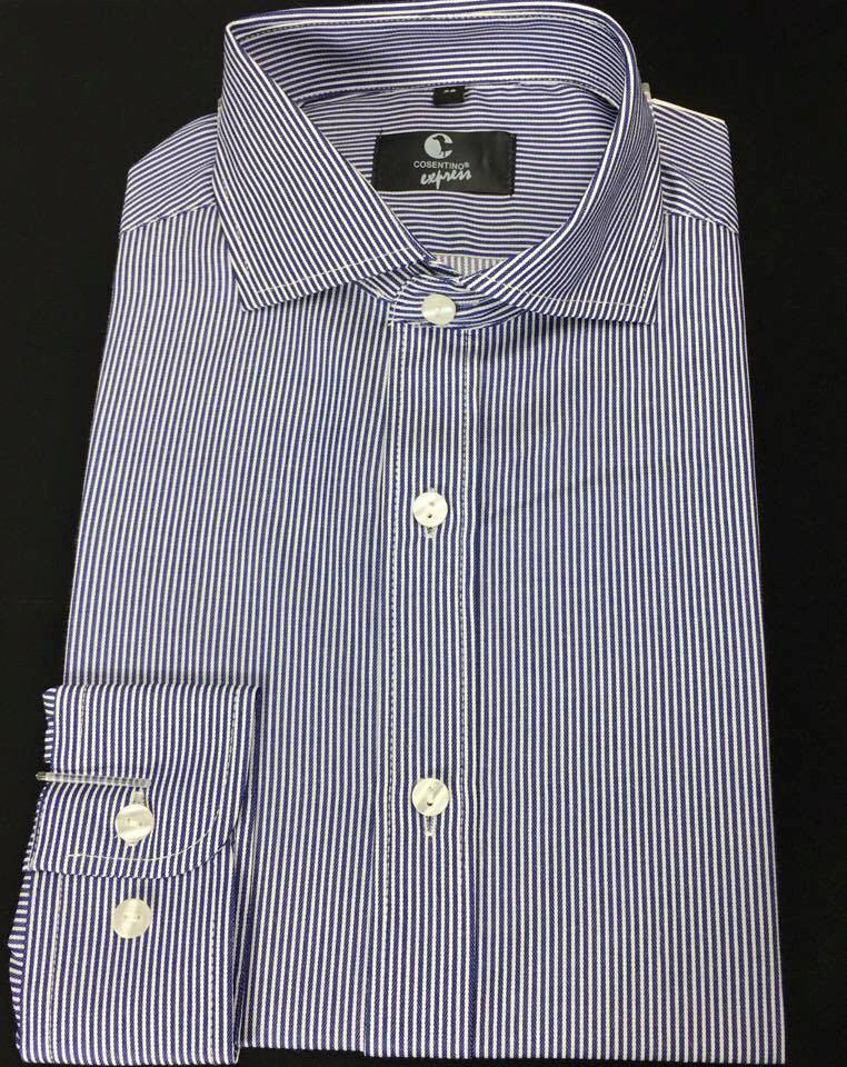 azul blanco camisa rayas zoom larga Cargando violeta hombre manga matako s  4wAqwIT e18ba04fa71