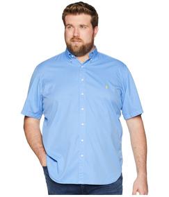 Lauren Bigamp; Hombre Ralph Garment Chino Dyed Camisa Tall Sho 92EHDWIY