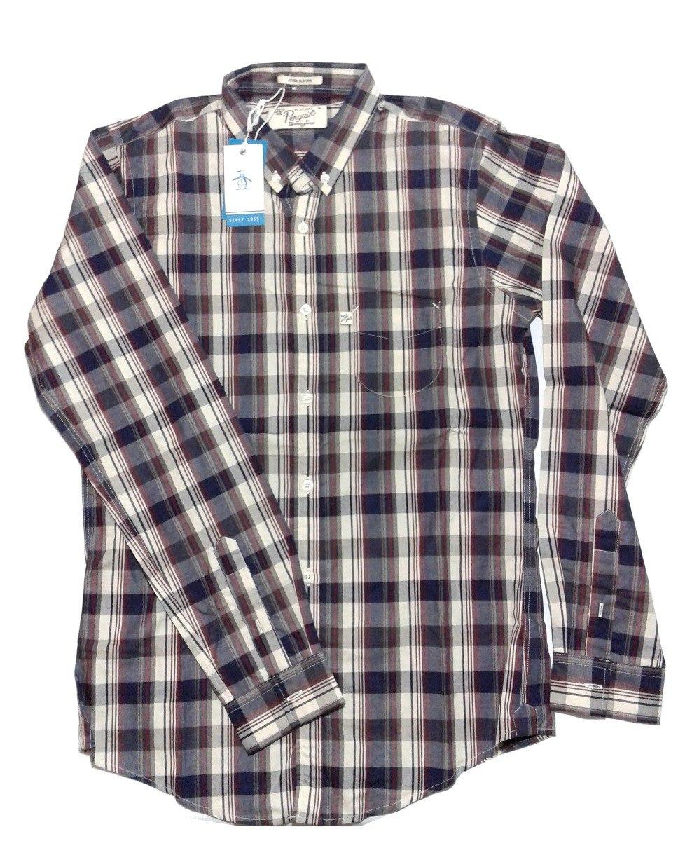874d849d5f4b7 Cargando verano camisa zoom hombre manga larga penguin zX6wBF