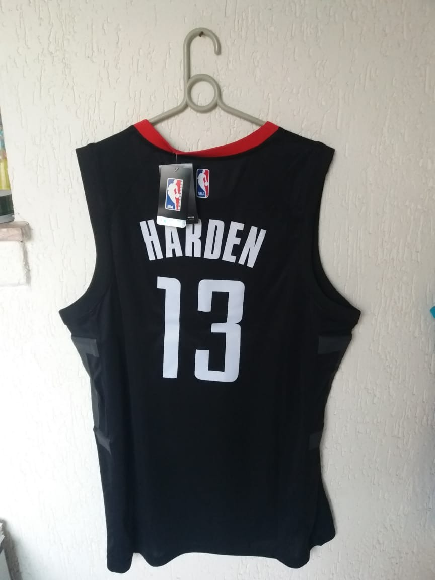 new style 6cfa2 88d0e Camisa Houston Rockets James Harden, Swingman, Na Etiqueta