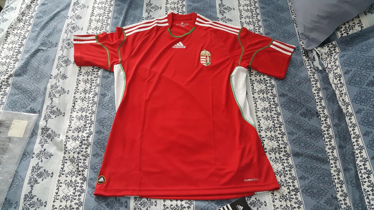 Camisa Hungria adidas b746ae6eafe69
