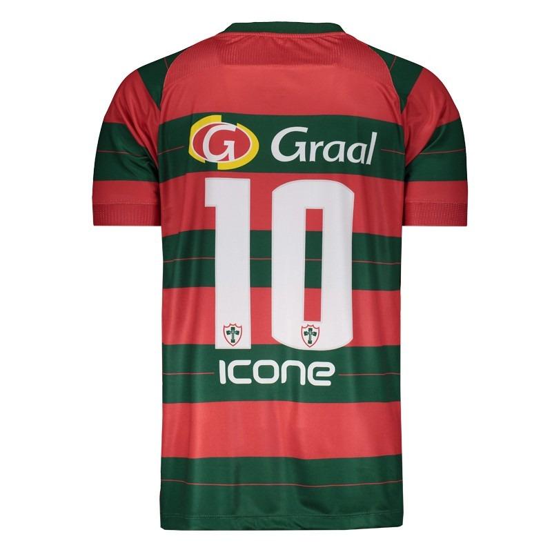 3feadb7c3c camisa ícone sports portuguesa i 2017 com patrocínio. Carregando zoom.